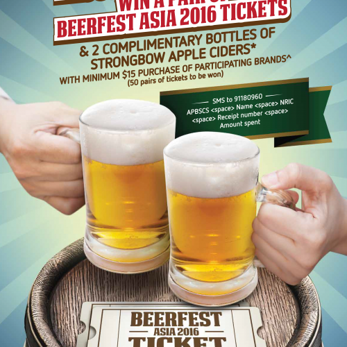 Example - SMS lucky draw contest_Beerfest - 1